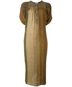 Masscob | Gradient Tunic Dress Xs/S Linen/Flax/Polyamide