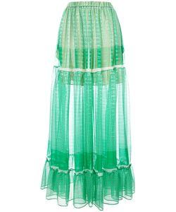 Stella Mccartney | Tie Maxi Skirt 40 Silk/Polyester