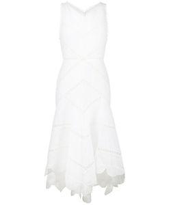 Zimmermann   Платье С Ажурной Вышивкой Без Рукавов