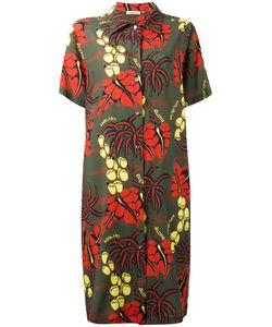 P.A.R.O.S.H. | P.A.R.O.S.H. Botanical Print Dress Size Xs