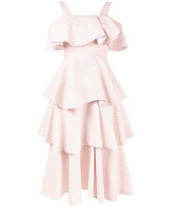 Huishan Zhang | Многоярусное Платье С Открытыми Плечами