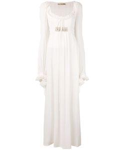 Amen | Длинное Платье С Глубоким Вырезом