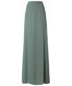 Chalayan | Long Split Skirt 40 Viscose/Acrylic