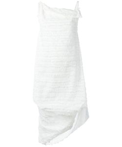 Vivienne Westwood Anglomania | Fringed Asymmetric Dress Size 40