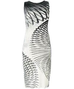 PLEATS PLEASE BY ISSEY MIYAKE   Printed Fitted Dress