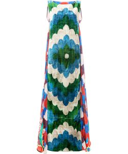 Afroditi Hera | Patterned Maxi Dress Size