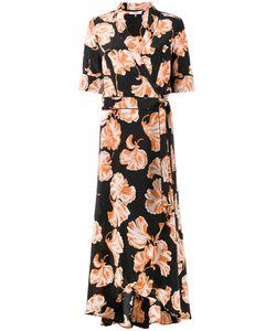 Ganni | Платье С Цветочным Принтом
