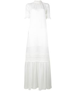 Mcq Alexander Mcqueen | Lace Detail Full Length Dress 44