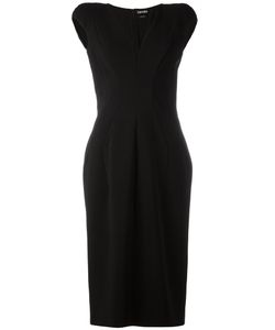 Tom Ford | V-Neck Cap Sleeve Dress 40 Viscose/Polyamide/Spandex/Elastane/Silk