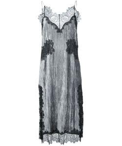 Irene | Lace Panel Camisole Dress Size