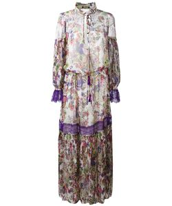 Roberto Cavalli | Print Dress 42 Silk/Polyamide