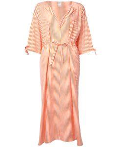 Maison Rabih Kayrouz | Striped Midi Dress 38 Cotton