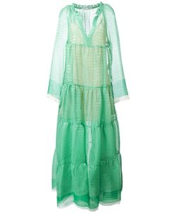 Stella Mccartney | Fla Circle Star Dress 40 Silk/Polyester
