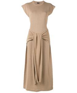 Joseph | Длинное Платье С Завязками Спереди