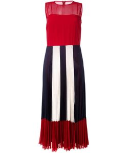 Red Valentino | Sheer Pleated Dress Size 42