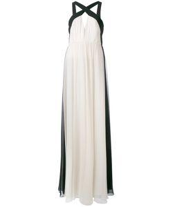 Halston Heritage | Halterneck Maxi Dress