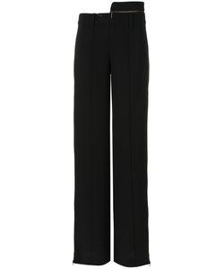 GLORIA COELHO | Straight Leg Trousers 42 Polyester