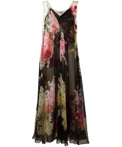 Lanvin | Print Dress 42 Silk/Acetate/Viscose