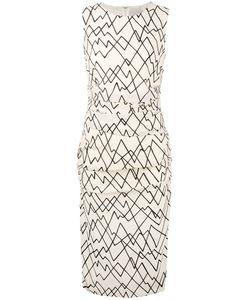 Eggs | Geometric Print Fitted Dress