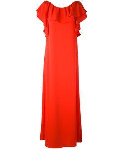 P.A.R.O.S.H. | P.A.R.O.S.H. Ruffle Sleeve Gown Xs