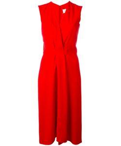 Maison Margiela | Gathe Front Evening Dress 40 Silk/Polyester/Polyamide/Acetate
