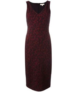 Michael Michael Kors | Baroque Jacquard Fitted Dress 8