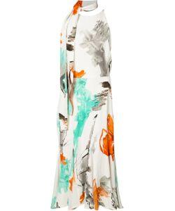 CHRISTIAN SIRIANO | Tie-Fastening Printed Dress