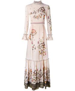 VILSHENKO | Print Maxi Dress 10 Silk