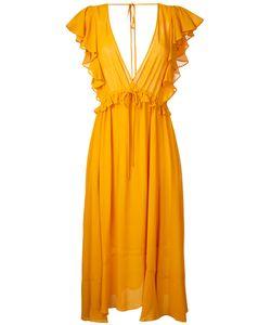 LE CIEL BLEU | Georgette Flared Dress Size