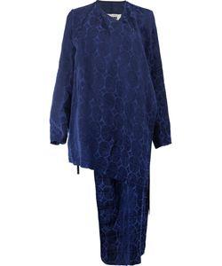 UMA WANG | Patterned Asymmetric Jacket Size Large