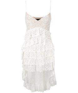 Christian Pellizzari | High-Low Layered Lace Dress Size 42