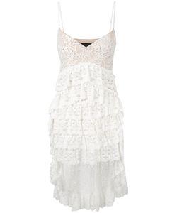 Christian Pellizzari | Кружевное Асимметричное Платье