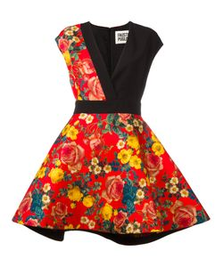 Fausto Puglisi   Print Dress 40 Silk/Spandex/Elastane/Viscose