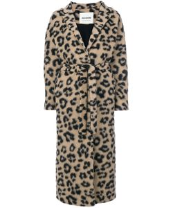 AVA ADORE | Cheetah Belted Long Coat Women