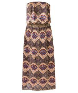 Gig | Knit Midi Dress Medium Polyamide/Viscose/Metallized Polyester