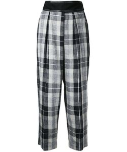 Cityshop | Plaid Cropped Trousers