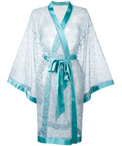 Dolci Follie   Lace Kimono Robe Polyester/Glass