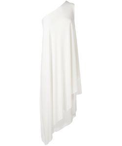 Norma Kamali | Драпированное Платье На Одно Плечо