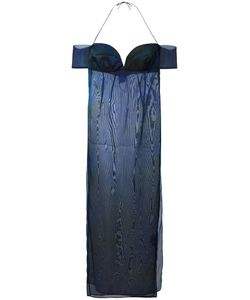 ROMEO GIGLI VINTAGE   Halter Sweetheart Neckline Dress 46