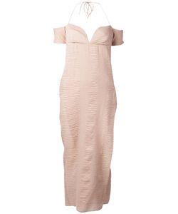 ROMEO GIGLI VINTAGE   Halter Sweetheart Neckline Dress 44