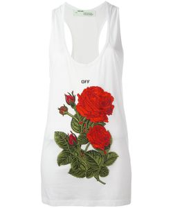 OFF-WHITE | Embroidery Tank Small Cotton