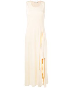 Jil Sander | Long Side Slide Sleeveless Dress Size 34