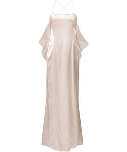GALVAN | Вечернее Платье С Открытой Спиной