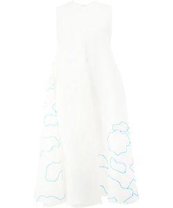 Maison Rabih Kayrouz   Платье С Вышивкой Облаков