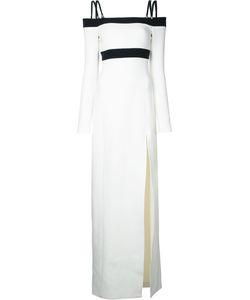David Koma   Side Slit Off-Shoulders Dress