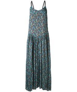 Twin-set | Длинное Платье С Цветочным Рисунком