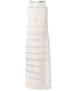 Twin-set | Прямое Платье С Кружевной Отделкой