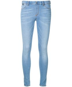 Love Moschino | Embroidered Heart Skinny Jeans Size 30