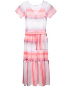 Lemlem | Striped Fla Dress Xs Cotton