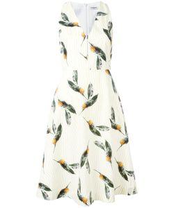 Cacharel | Расклешенное Платье С Принтом Ананасов